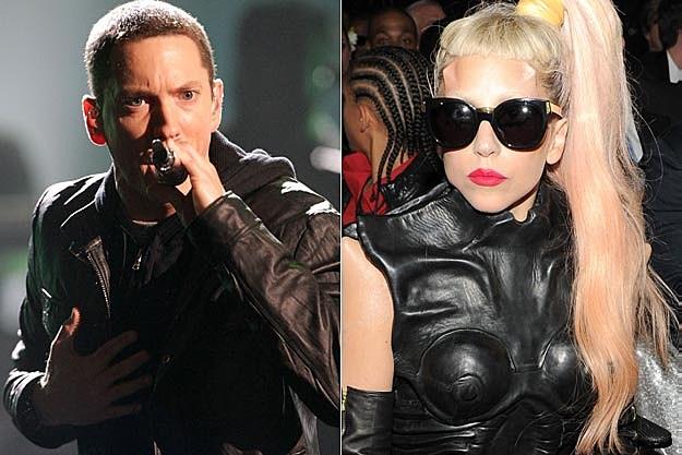 Eminem and Lady Gaga