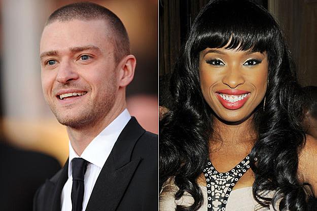 Justin Timberlake and Jennifer Hudson