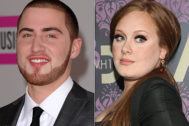Mike Posner and Adele