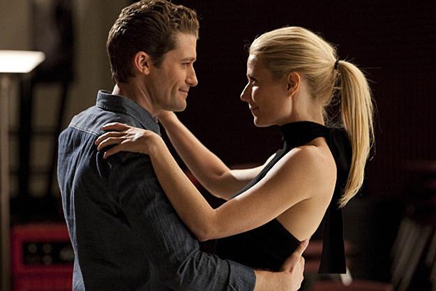 Matthew Morrison, Gwyneth Paltrow on 'Glee'