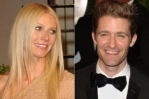Gwyneth Paltrow, Matthew Morrison