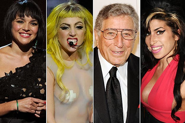 Norah Jones / Lady Gaga / Tony Bennett / Amy Winehouse