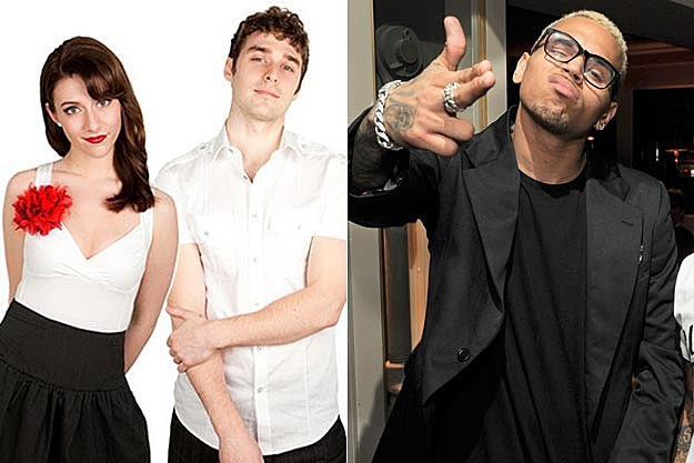 Karmin Chris Brown