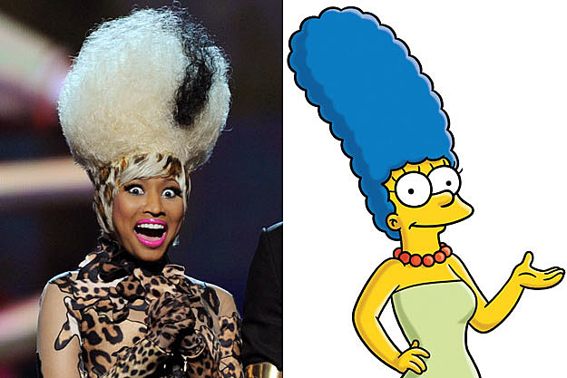 Nicki Minaj / Marge Simpson