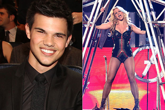 Taylor Lautner, Britney Spears