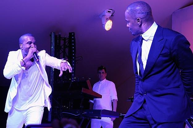 Kanye West Jamie Foxx
