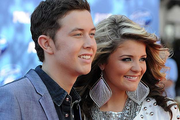 scotty mccreery dating lauren Scotty mccreery is very ticklish no doubt that he always get tickled by lauren alaina.