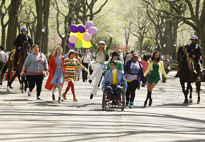 'Glee' 'New York'