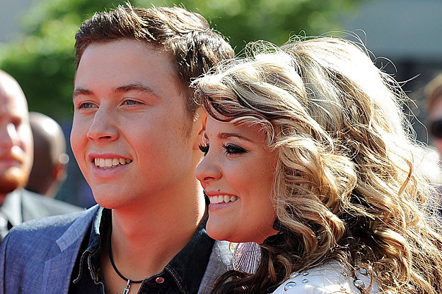 American Idol s Scotty McCreery I m Not Dating Lauren Alaina