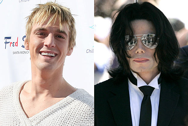 Aaron Carter Michael Jackson