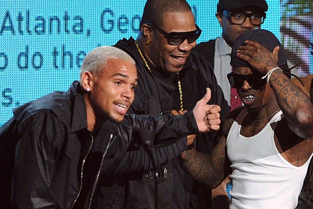 Chris Brown Busta Rhymes Lil Wayne
