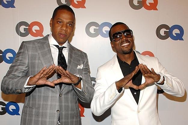 Jayz Kanye West