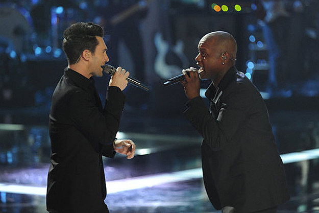 Adam Levine Javier Colon