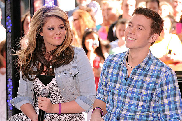 scotty mccreery is he dating lauren alaina Scotty mccreery, the country cutie was crowned american idol last week and what every fan wants to know is who is his girlfriend the rumor is that he's dating runner up lauren alaina.