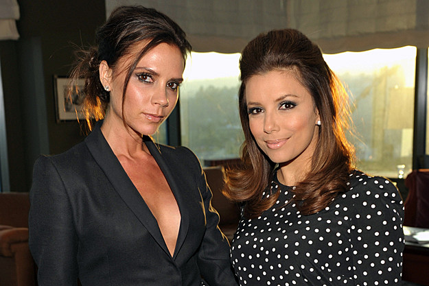Victoria Beckham Asks Eva Longoria to Be Godmother