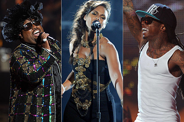 Cee Lo Green, Alicia Keys, Lil Wayne