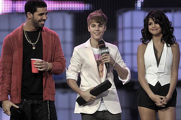 Drake Justin Bieber Selena Gomez