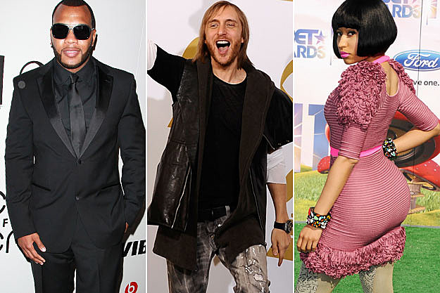 Flo Rida David Guetta Nicki Minaj