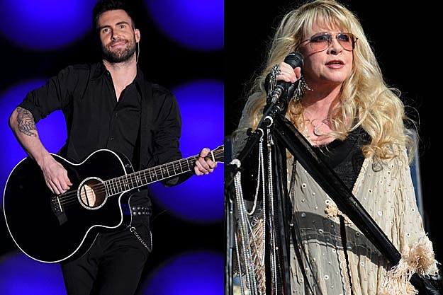 Adam Levine, Stevie Nicks