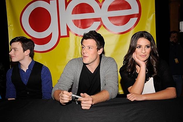 Chris Colfer Lea Michele Cory Monteith
