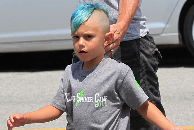 Kingston Rossdale Blue Mowhawk