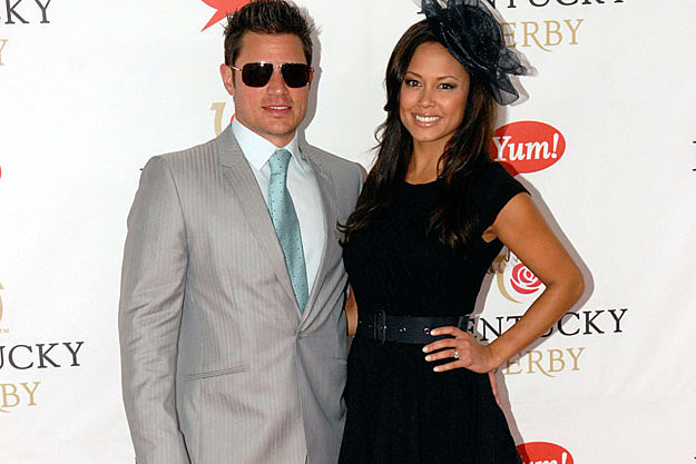 Nick Lachey Vanessa Minnill Vanessa and Nick got engaged in November and now they are married.