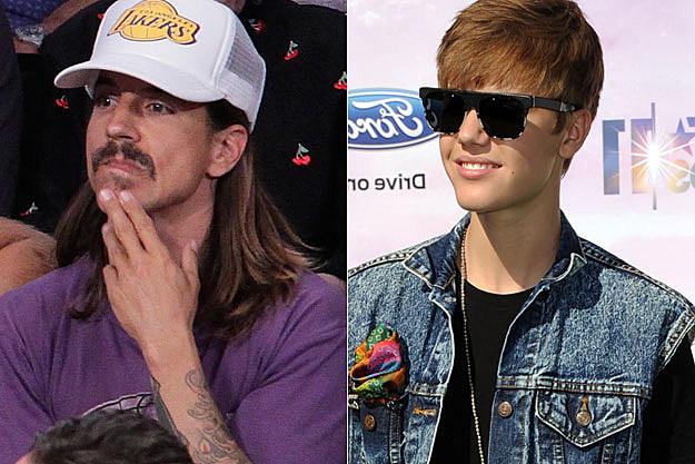 Anthony Kiedis Justin Bieber