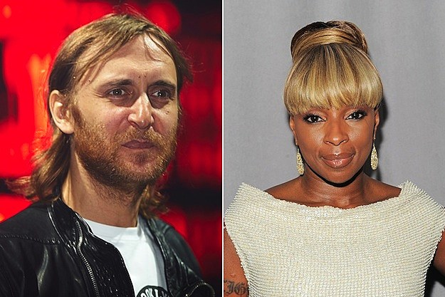David Guetta and Mary J Blige