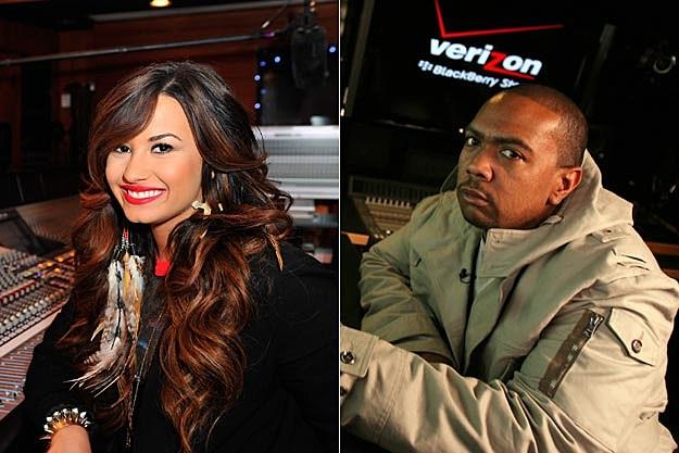Demi Lovato Timbaland