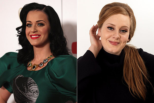 Katy Perry Adele