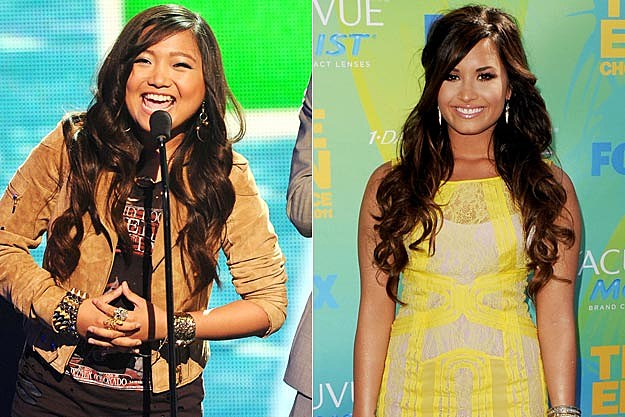 Charice Demi Lovato 2011 Teen Choice Awards