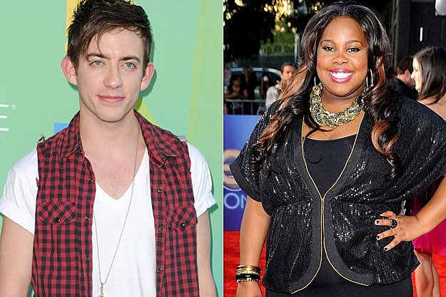 Kevin McHale Amber Riley