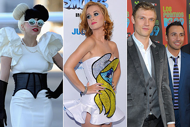 Lady Gaga Katy Perry Backstreet Boys