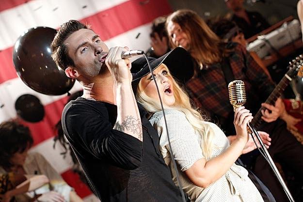 Maroon 5 Christina Aguilera