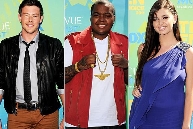 Cory Monteith Sean Kingston Rebecca Black