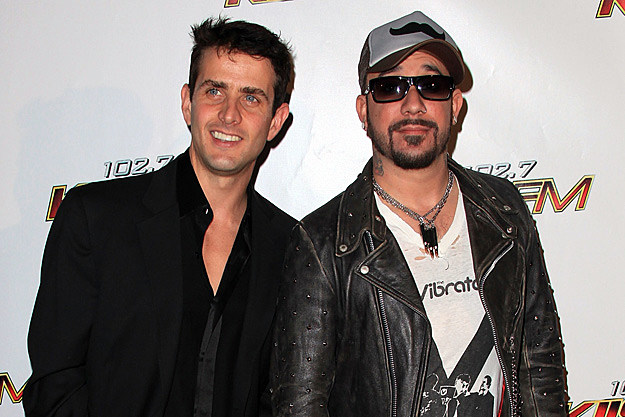 Joey McIntyre and A.J. McLean Perform Last NKOTBSB Show in Underwear