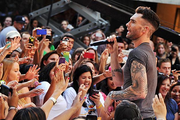 Maroon 5 Today Show Summer Concert Series