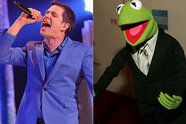 Damian Kulash of OK Go Kermit the Frog