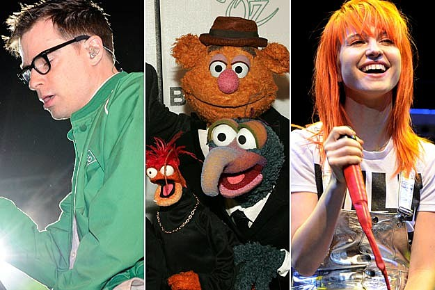 Rivers Cuomo Muppets Hayley Williams