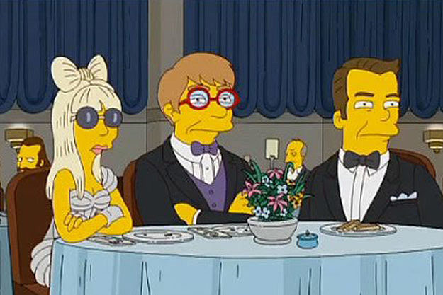 The Simpsons Lady Gaga