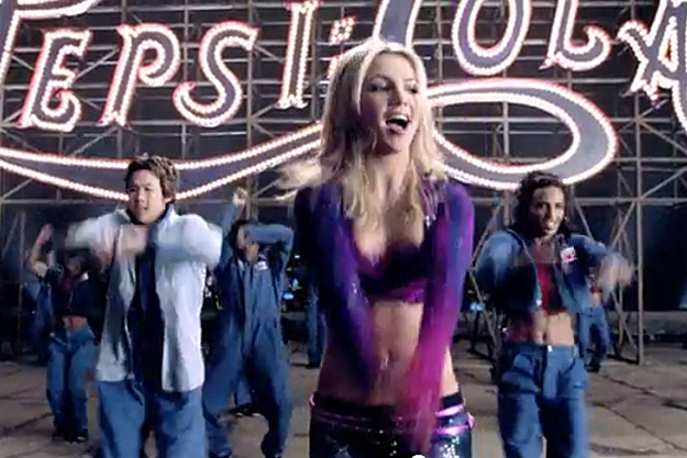 the reinvention of britney spears in the pepsi ad campaign