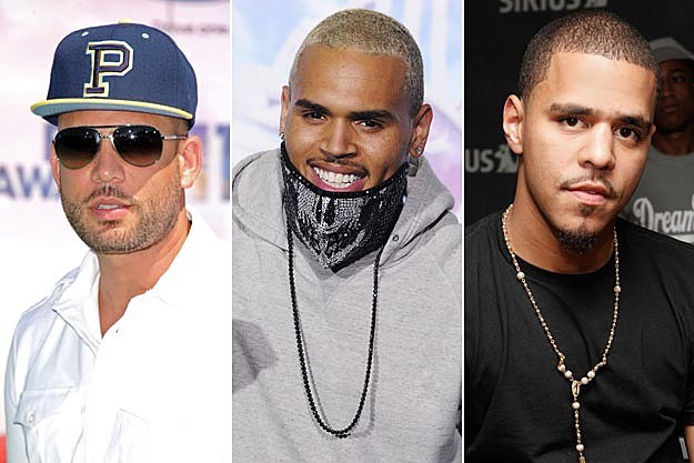 DJ Drama Chris Brown J Cole
