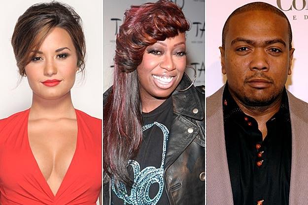 Demi Lovato Missy Elliott Timbaland