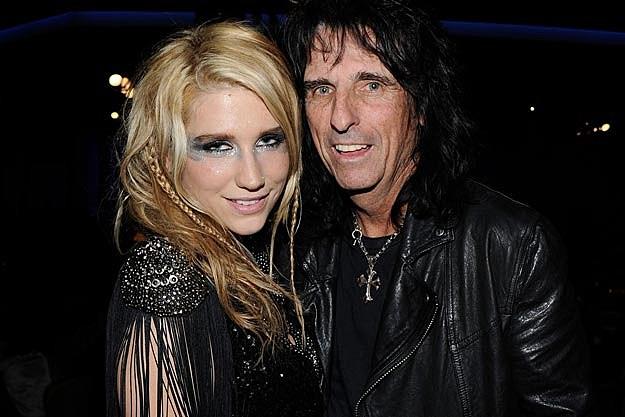 Kesha Alice Cooper