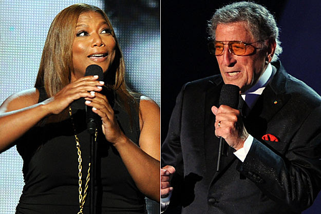 Queen Latifah Tony Bennett