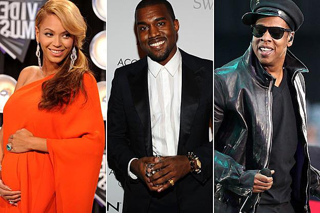 Beyonce Kanye West Jay-Z