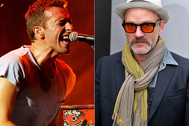 Chris Martin Michael Stipe