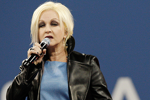 Cyndi Lauper Fumbles Words to National Anthem on 9/11