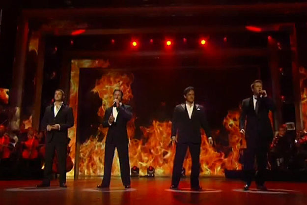 Il divo impress america s got talent audience with - Il divo italian songs ...