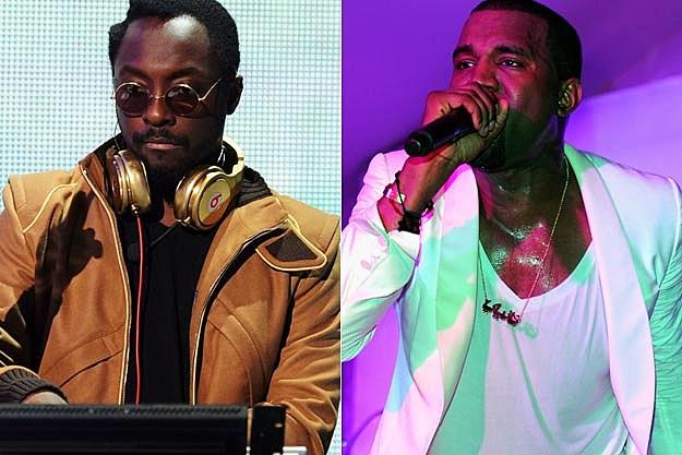 Will.i.am Kanye West